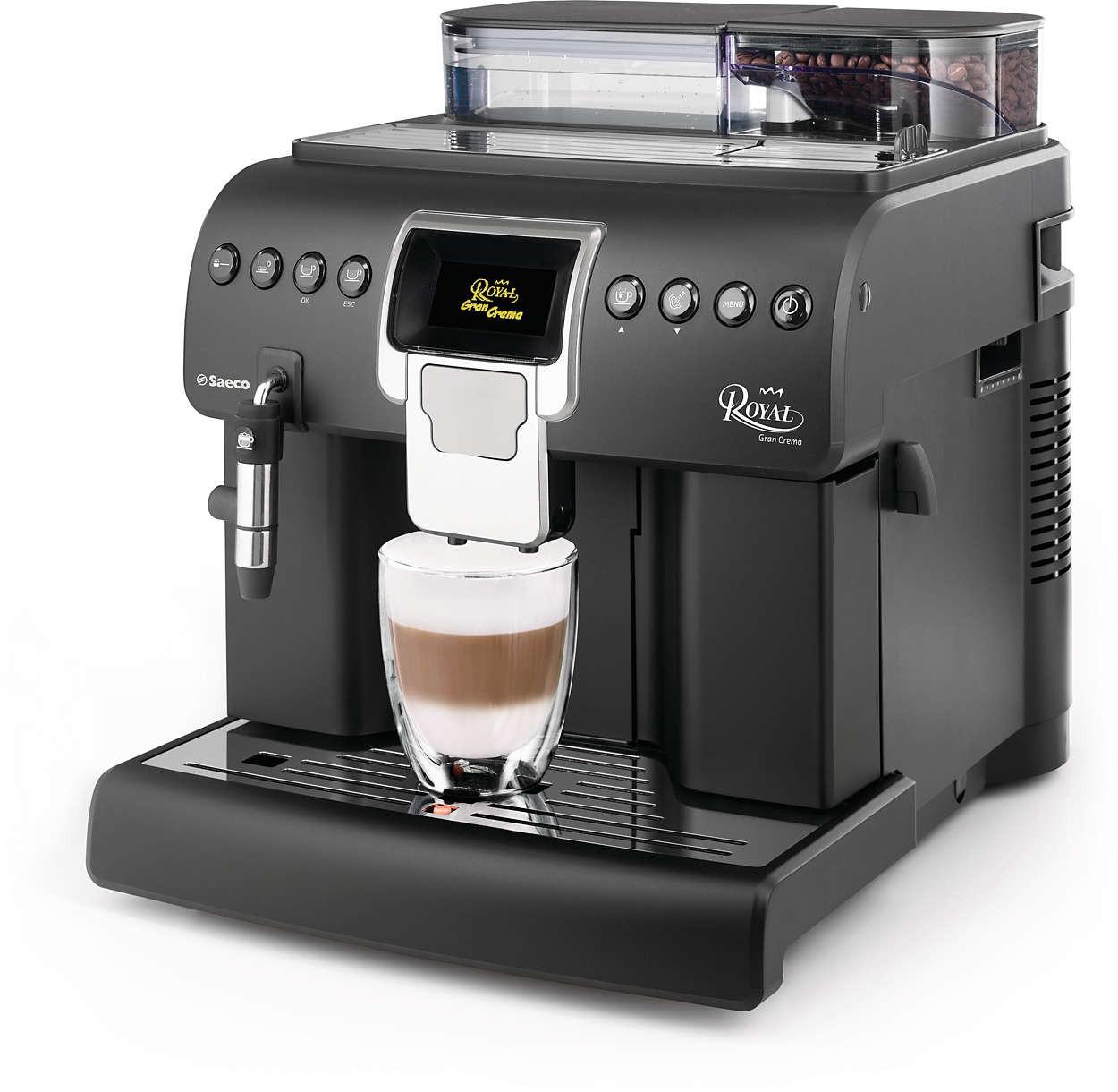 Дана багатофункціональна каварка впишеться в офіс, кафе або кухню в стилі модерн, але головне - це те, яку божественну і ароматну каву вона варить.